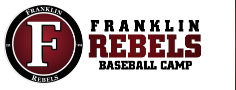 Franklin Rebels Baseball Camp 2018 Logo